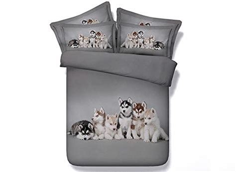 puppy bedding set print bedding for