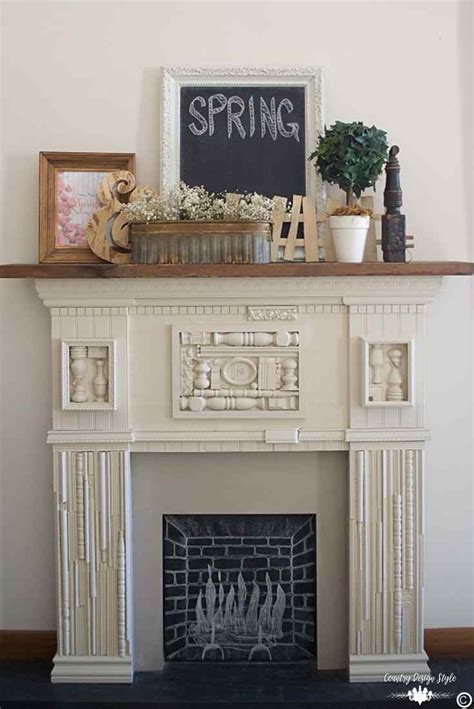 7 chic decorating ideas for your mantel mantels mantels this is simple spring decorating ideas for your mantel