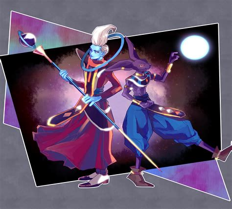 dragon ball super beerus wallpaper whis and beerus wallpaper and background image 1366x1230