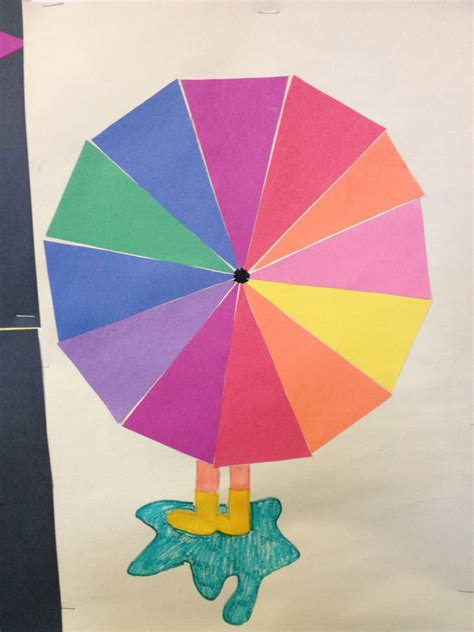 color wheel umbrella color wheel umbrella crafts such