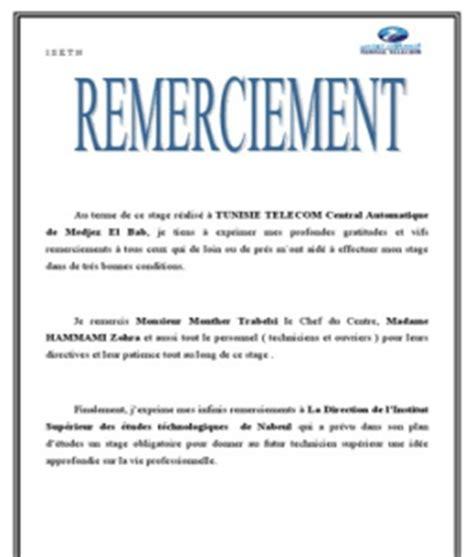 Lettre De Remerciement Gentillesse Exemple Lettre De Remerciement Rapport De Stage 3eme 8 Quotes