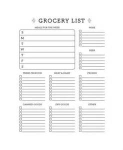 grocery list template grocery list template 13 free pdf psd documents