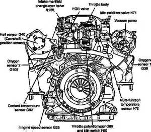 vw pat 2 8 v6 engine diagram vw free engine image for user manual