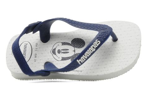 Clutch Mickey Twee havaianas baby mickey minnie blauw slippers bij sarenza