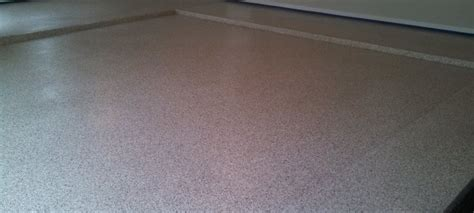 garage floor coating hybrid chip flooring