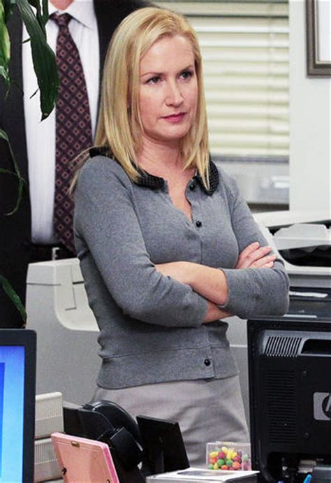 Angela From The Office by Exclusive Office Sneak Peek Will Angela Get Back Together