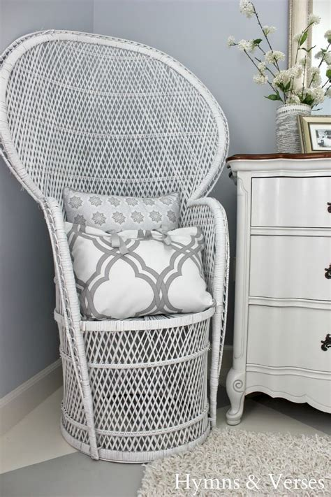 spray paint chairs white 408 best images about wicker rattan bammboo peacock
