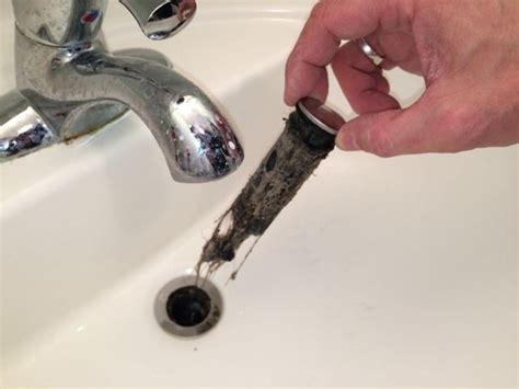 bathroom sink plug removal how to fix a bathroom sink that will not drain