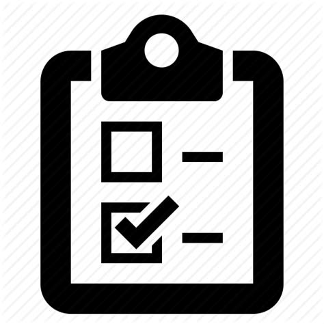 Polls Style Icons by Documents Clipboards By Lewis