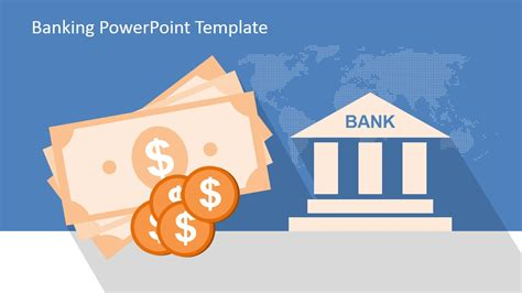 bank template banking powerpoint template slidemodel