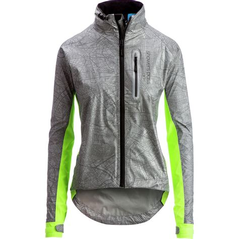 cycling shower jacket showers pass hi vis torch jacket women s backcountry com