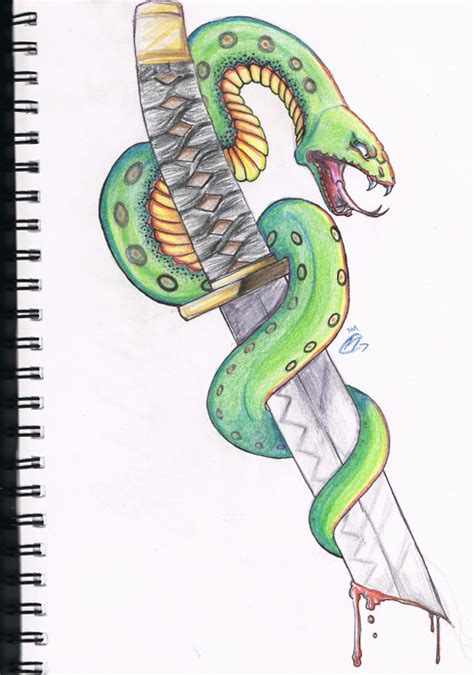 phoenix tattoo design by unmei wo hayamete on deviantart snake wrapped around katana by unmei wo hayamete on deviantart