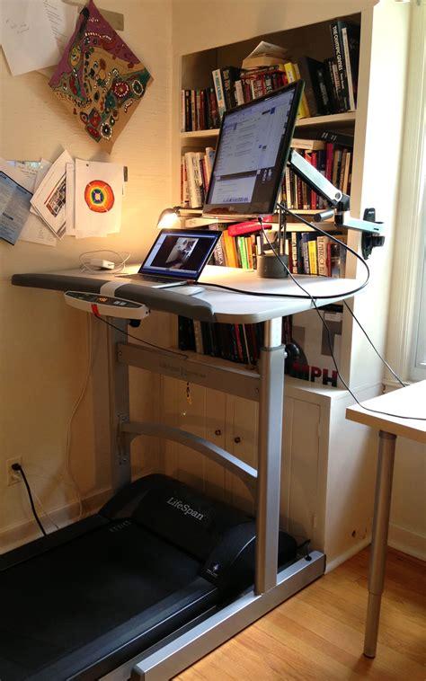 small treadmill desk the treadmill desk bentley hoke