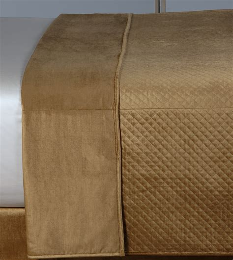 gold coverlet queen luxury bedding by eastern accents reuss gold coverlet