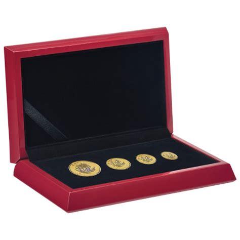 Set Gold Cantik 11 2016 gold maple leaf fractional proof 4 coin sets