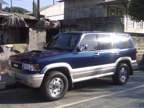 how to work on cars 1997 isuzu trooper security system 1997 isuzu trooper information and photos momentcar