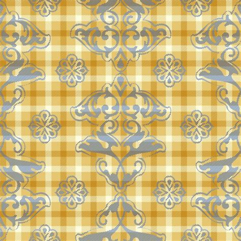 yellow pattern ai yellow floral pattern vector free download