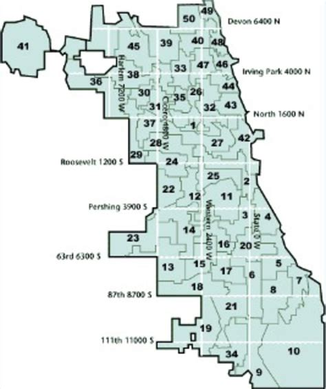 chicago ward map chicago s dumbest wards nbc chicago