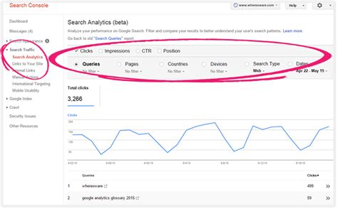 analytics console analytics tip beginner s guide to search console