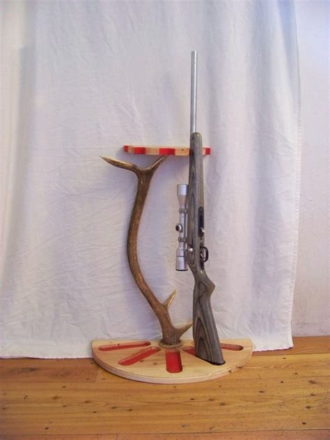 elk antler gun rack 100 00 via etsy decor