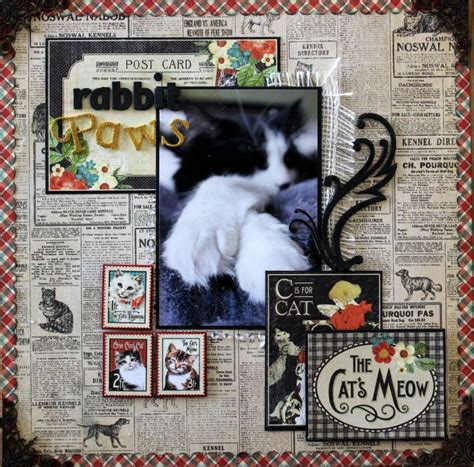 scrapbook layout cat scrapbooking layouts layout and cats on pinterest