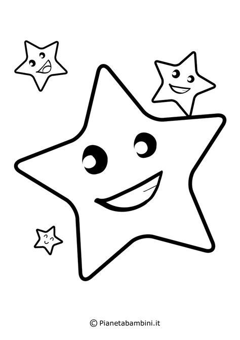 happy star coloring page disegni di stelle da stare colorare e ritagliare