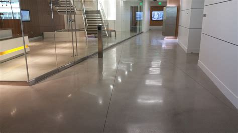 polished concrete floor by bac polished decorative