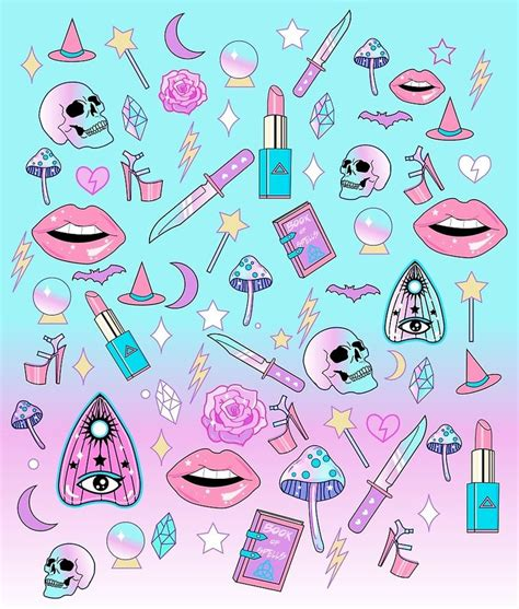 Wallpaper Gothic Girly | 17 best images about pastel on pinterest glow kawaii