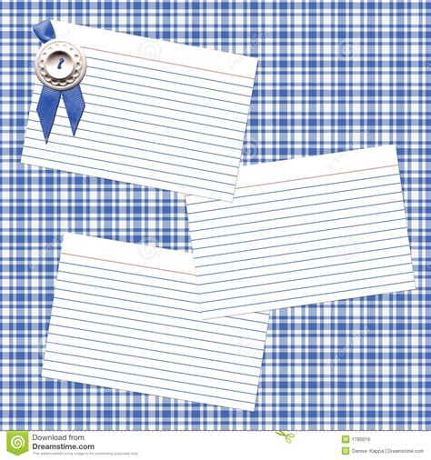 blue ribbon recipes blue ribbon recipe royalty free stock image image 1780016