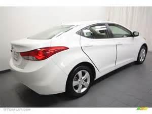2012 Hyundai Elantra Colors 2012 Shimmering White Hyundai Elantra Gls 63243135 Photo