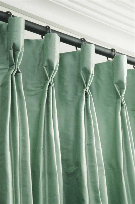 Goblet Pleat Curtain Villa Vici contemporary furniture store and interior design resource New