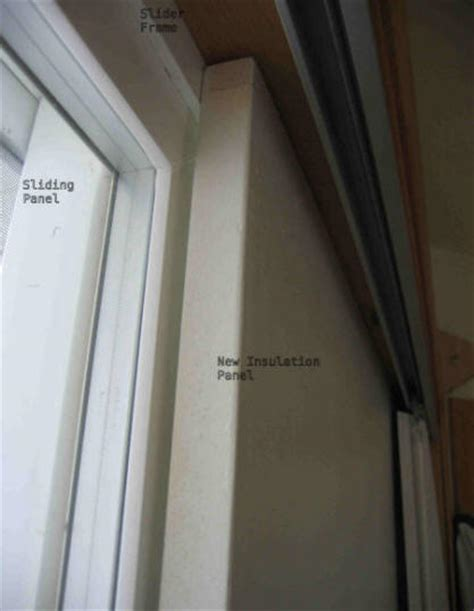 Best Way To Insulate Sliding Glass Doors Insulating A Sliding Glass Door
