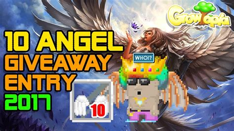 Angels Giveaways 2017 - 10 angel giveaway entry 2017 growtopia closed youtube