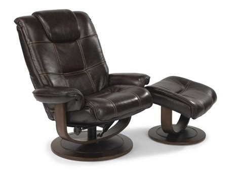 Leather Chair With Ottoman Spencer Leather Chair And Ottoman 1457co Leather Chair W Ottoman Furniture