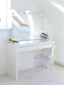 Makeup Vanity With Mirror And Chair Makeup Storage Ideas Mirror Ghost Chairs And