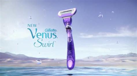venus razor ads venus swirl tv commercial contours over curves ispot tv