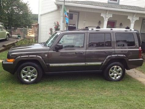 2006 Jeep Commander Not Starting Buy Used 2006 Jeep Commander Limited Sport Utility 4 Door
