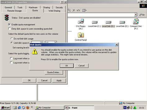 yahoo email quota disk quota pada windows 2000 server ayu islamiyati