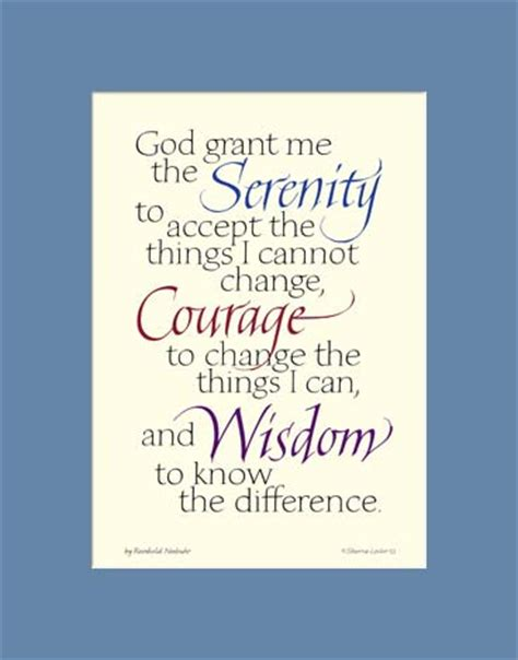 printable version of the serenity prayer serenity prayer aa serenity prayer serenity prayer print