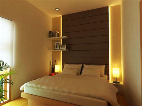 Tempat Tidur Minimalis Ukuran Kecil warna cat kamar tidur ukuran kecil yang cantik terbaru