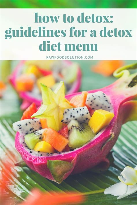 Criteria For Detox by 25 Best Ideas About Detox Diet Menu On Detox