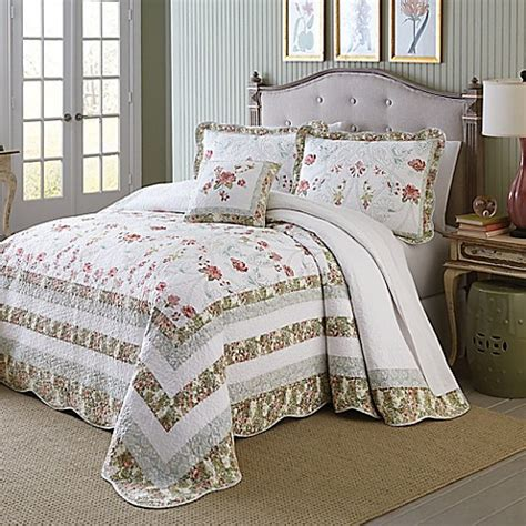 mary jane bedding mary jane s home wild rose bedspread bed bath beyond