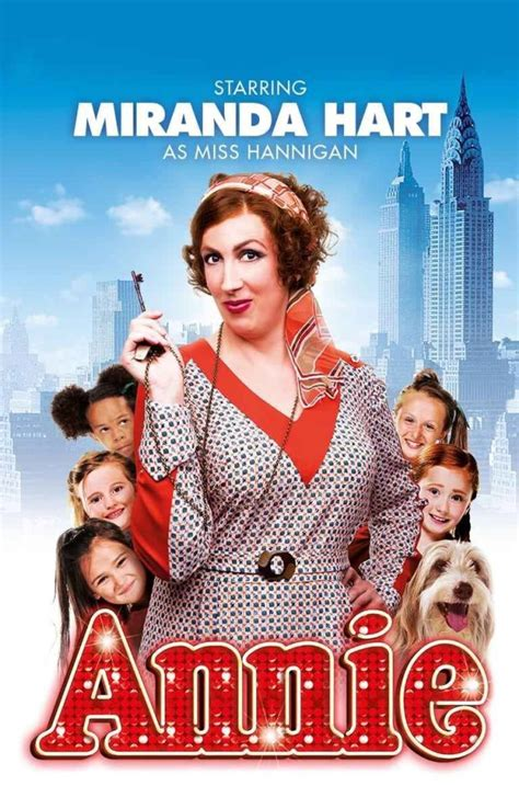 Miss 1 2 End miranda hart to play mrs hannigan in in the west end