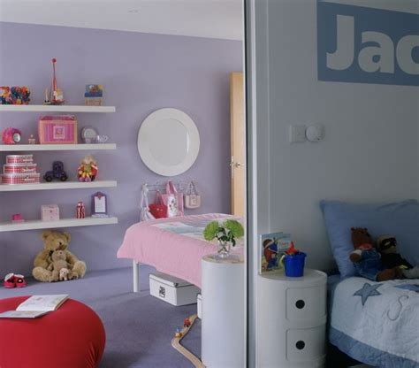 split bedroom into two shared bedroom ideas for kids real simple