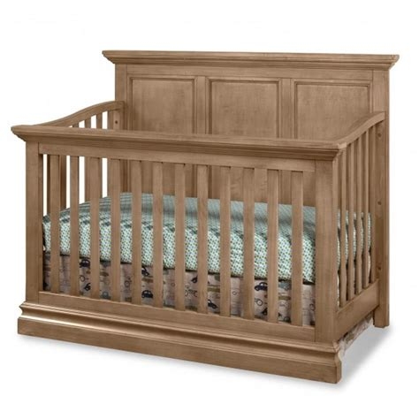Westwood Design Cribs by Westwood Design Pine Ridge 4 In 1 Panel Crib Cashew