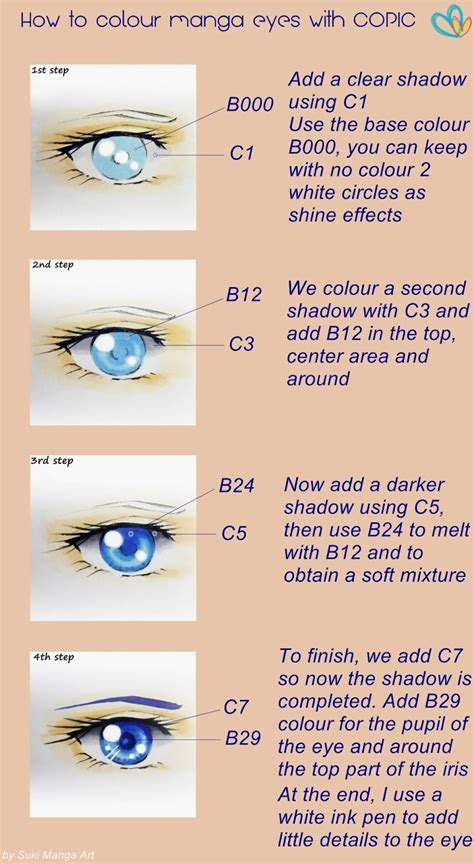 sketchbook copic tutorial tutorial how to colour manga eyes with copic by suki