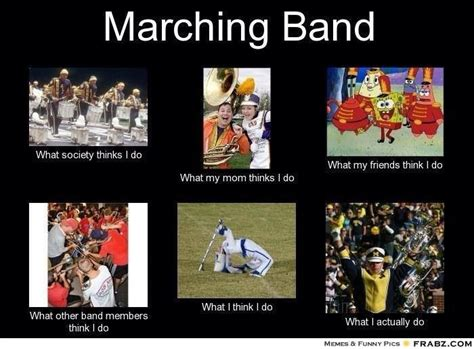 Funny Marching Band Memes - marching band memes lol funnys pinterest