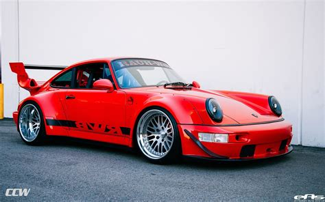 porsche rwb rwb porsche 964 turbo ccw wheels