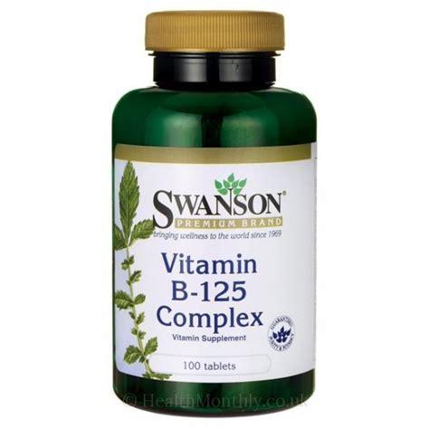 Vitamin Ipi B Complex swanson premium vitamin b 125 complex 100 tablets 163 15 46