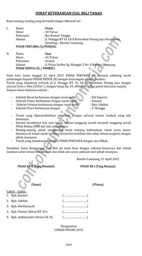 surat keterangan contoh surat indonesia newhairstylesformen2014